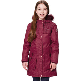Regatta Halimah Parka Girls Rumba Red